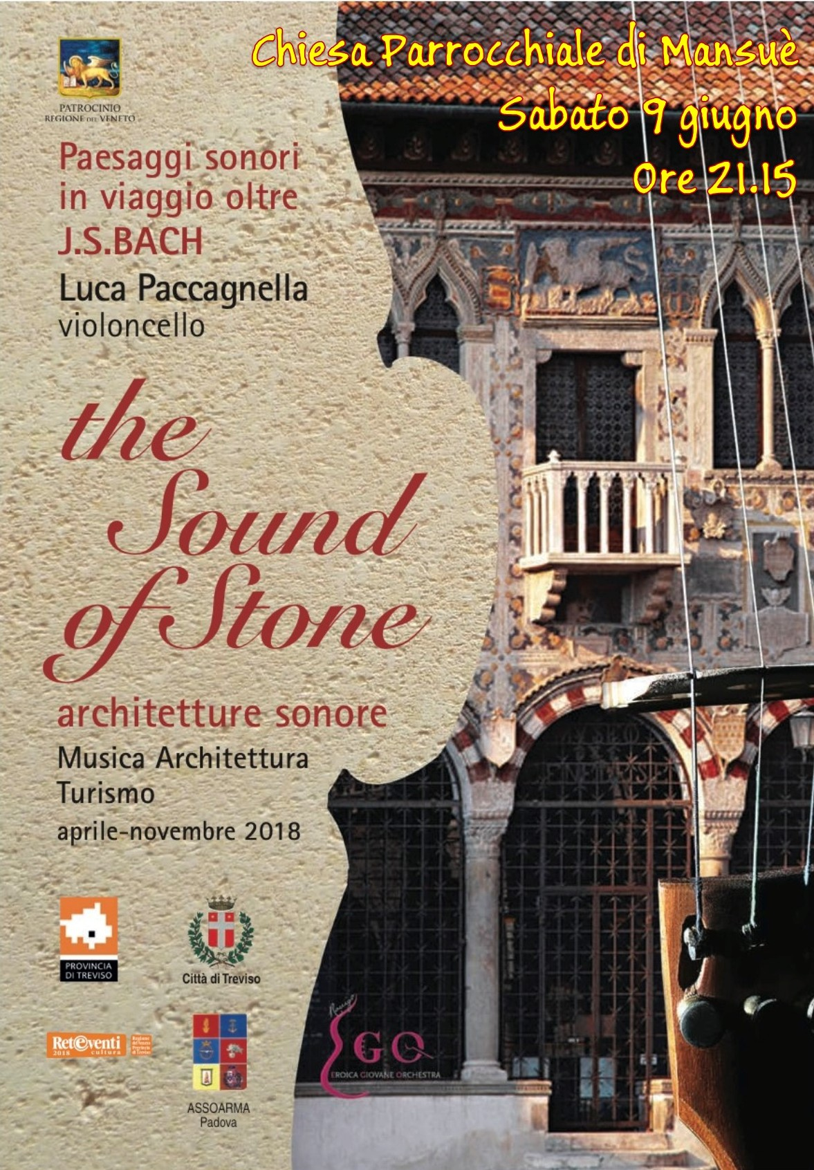 COVER The Sound of Stound TREVISO